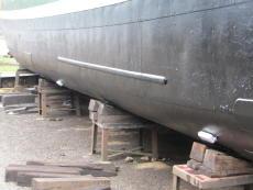 Coated hull
