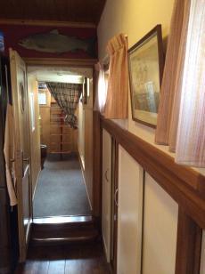 Hallway to wheelhouse.