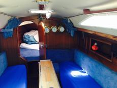 Main cabin lookinfg forward t