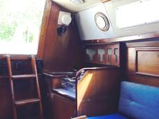 Main Cabin looking aft to galley