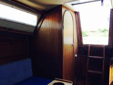 Main cabin looking aft to heads