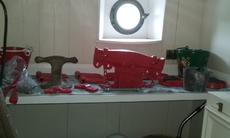 Barrel winch parts
