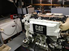 Port side engine and Onan generator