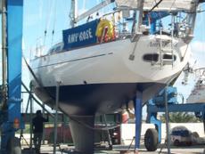 Hull Epoxied 2005