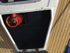 Large front deck locker