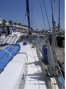 Starboard waist