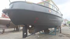 Newly painted hull back RIGHT