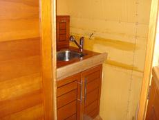 Main bedroom wash up area