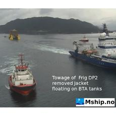 Towage of the system