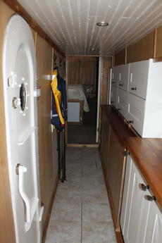 galley leading to main bed