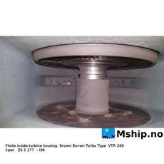Turbo: Brown Boveri type VTR 200 specification : Z6 S 277 I 86