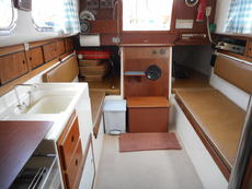 Westerly Centaur - Saloon looking aft