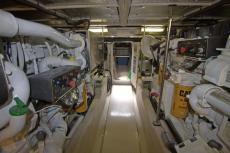 Spacious Engine Room