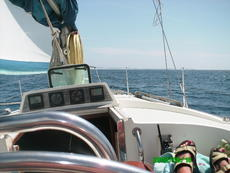 Out sailing