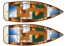 Manufacturer Provided Image: Standard and Optional Cabin Arrangement.