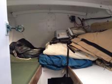 Forepeak Cabin / Storage work room