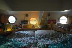 Forecastle where the kids sleep