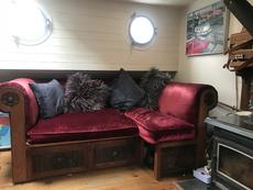 Sofa in the lounge