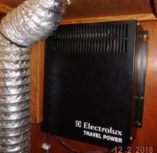 Engine Charging: 3.5KVA Generator to Electrolux Travel Pack