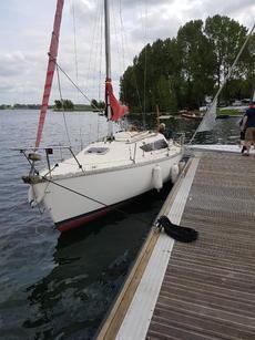 Yacht on Rutland water 2