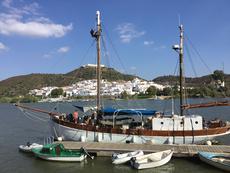 Rerigging main mast Oct 2017