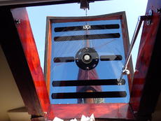 Fore cabin hatch and ventilation that can be used at sea
