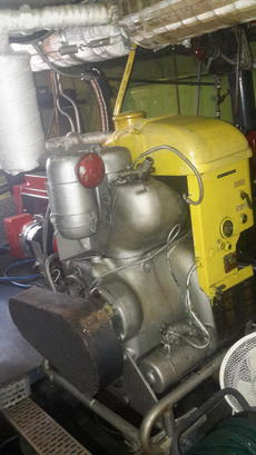 One of two the generators