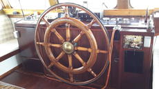 Wheel with electrical option.