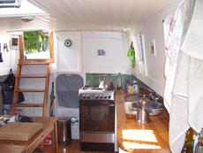 Saloon/galley