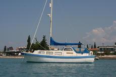 Moored in Greek waters
