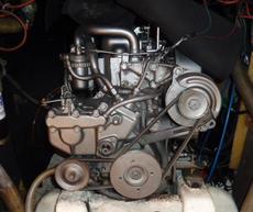 Yanmar 15hp Engine