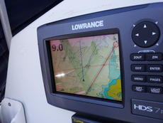 Lowrance GPS Colour Chartplotter