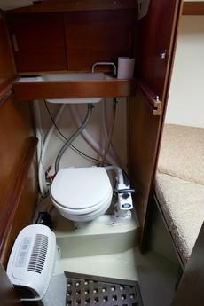 New Toilet inc. Blue Flush
