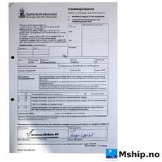 Excemption certificate