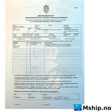 Safe Manning certificate
