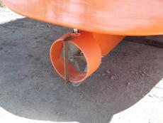 Nozzle rudder,more thrust
