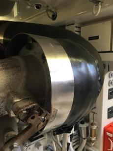 Upgraded Exhaust Vibration Isolator