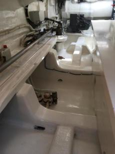 Steering Locker Dry Bilge Detail