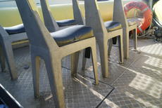Bolted seats