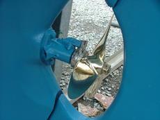Propeller and cutter