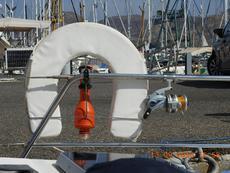 Horseshoe buoy and light