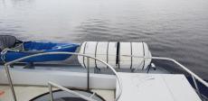 10 Person Life raft Port side upper deck