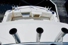 View of Cockpit from Flybridge