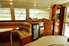 Salon starboard side