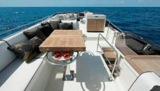 Flybridge View from aft end looking forward