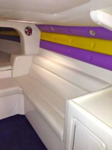 Interior looking forward - Starboard side