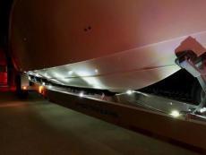 MYCO Trailer LEDs light up the Boat!