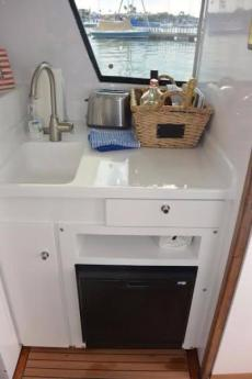 Compact Galley for Overnighting