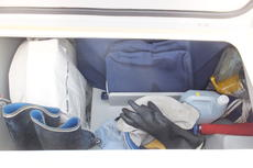 Cockpit stbd. locker