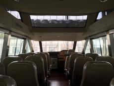 Enclosed high speed water taxi